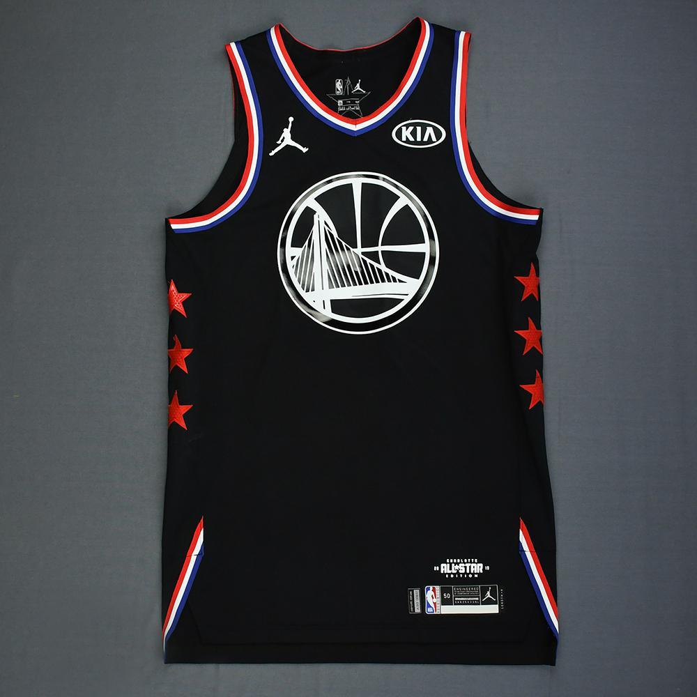 Klay Thompson - 2019 NBA All-Star Game - Team LeBron - Game-Worn Jersey - 1st Half Only