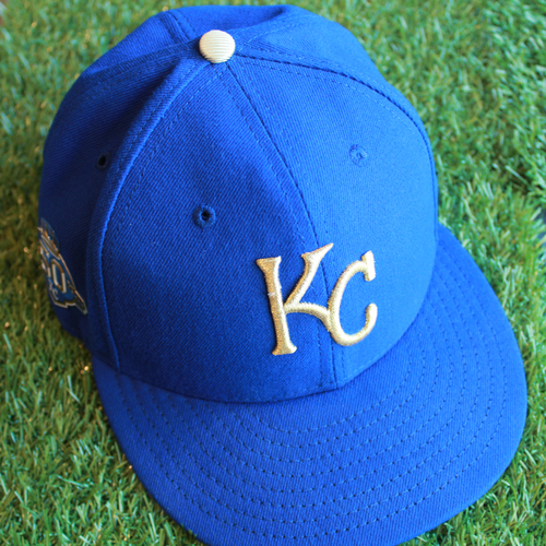 Photo of Game-Used 50 Seasons Cap: Terry Bradshaw (Size 7 1/4 - CLE @ KC - 9/28/18)