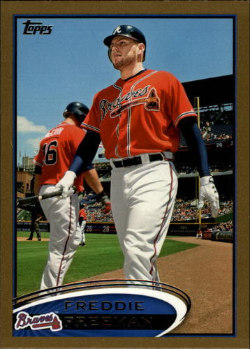Photo of 2012 Topps Gold #215 Freddie Freeman