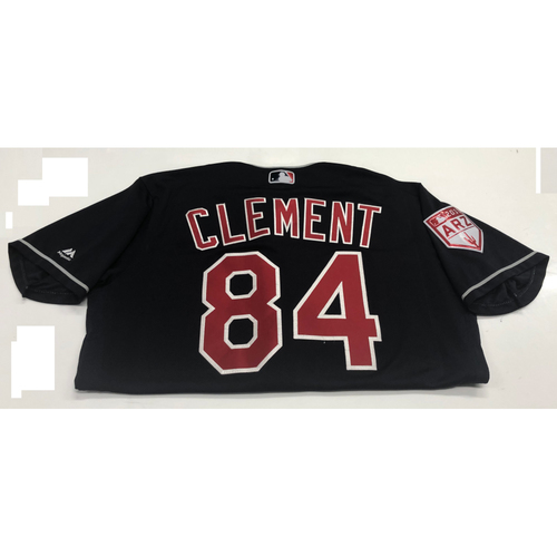 Photo of Ernie Clement Game-Used 2019 Spring Training Jersey