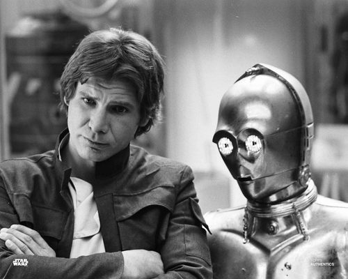 Han Solo and C-3PO