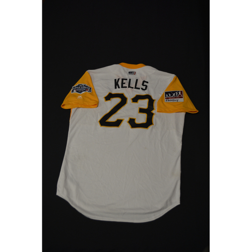 "Photo of 2019 Little League Classic - Game Used Jersey - Mitch ""Kells"" Keller,  Chicago Cubs at Pittsburgh Pirates - 8/18/2019 (Size - 46)"