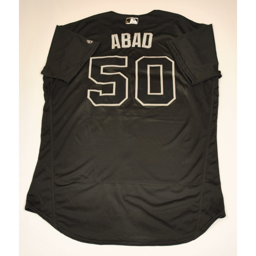 "Photo of Fernando ""ABAD"" Abad San Francisco Giants Game-Used 2019 Players' Weekend Jersey"