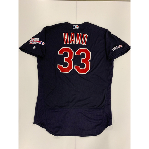 Photo of Brad Hand 2019 Team Issued Alternate Road Jersey