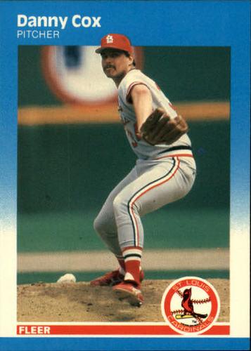 Photo of 1987 Fleer #292 Danny Cox