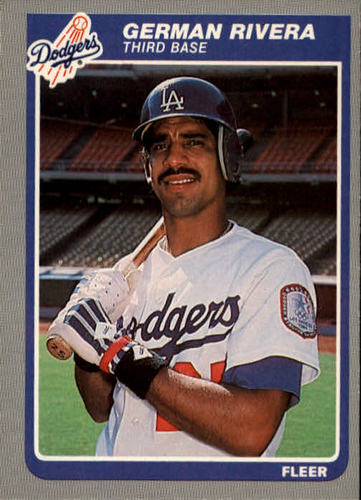 Photo of 1985 Fleer #382 German Rivera