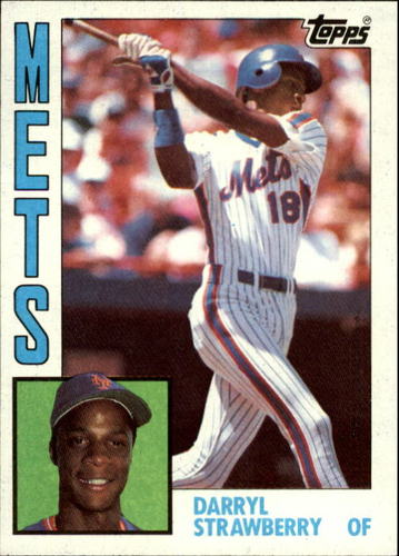Photo of 1984 Topps #182 Darryl Strawberry RC