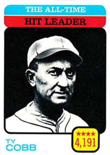 Photo of 1973 Topps #471 Ty Cobb/All-Time Hit Leader