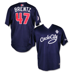 Photo of #47 Jake Brentz Game Worn Circle City Jersey