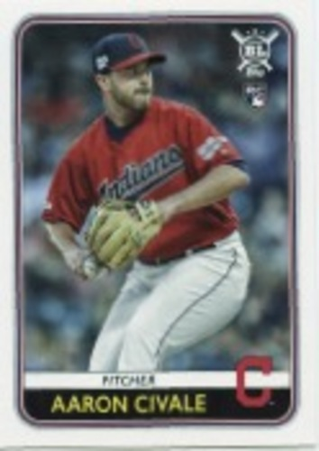 Photo of 2020 Topps Big League #67 Aaron Civale RC
