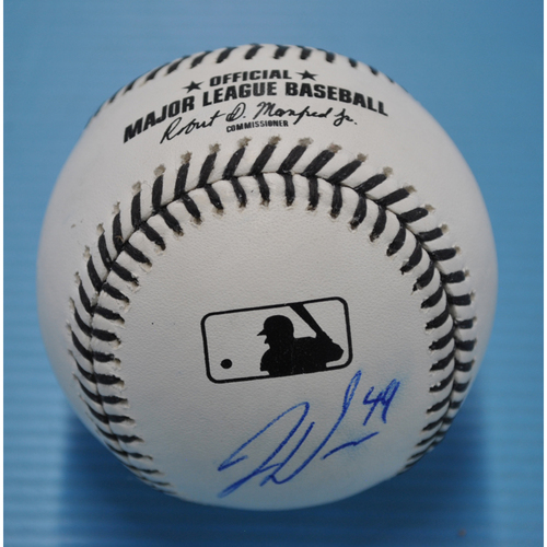 Photo of MLB Opening Day Auction Supporting The Players Alliance - Autographed Black Lives Matter Baseball - Jaylin Davis