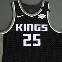 Alex Len - Sacramento Kings - Game-Issued Statement Edition Jersey - 2019-20 NBA Season Restart with Social Justice Message