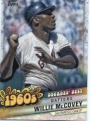 Photo of 2020 Topps Decades' Best Series 2 #DB27 Willie McCovey