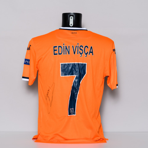 Photo of 20/21 Istanbul Basaksehir FK Jersey - signed by Edin Visca