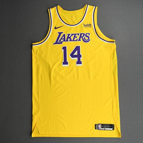 Image of Marc Gasol - Los Angeles Lakers - Kia NBA Tip-Off 2020 - Game-Worn Icon Edition Jersey - Lakers' Debut