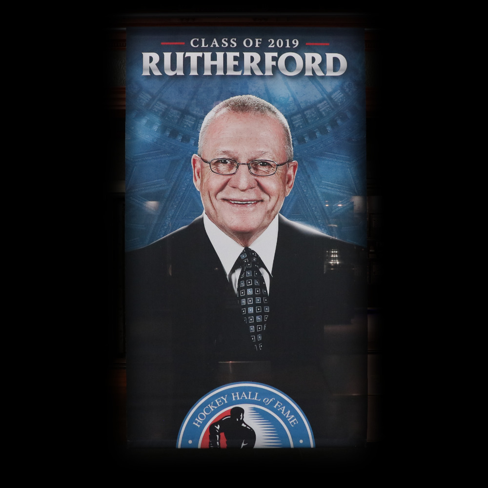 Jim Rutherford Hockey Hall of Fame Class of 2019 Banner (5ft x 9ft) - Limited Edition 1/1
