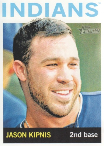 Photo of 2013 Topps Heritage #216 Jason Kipnis