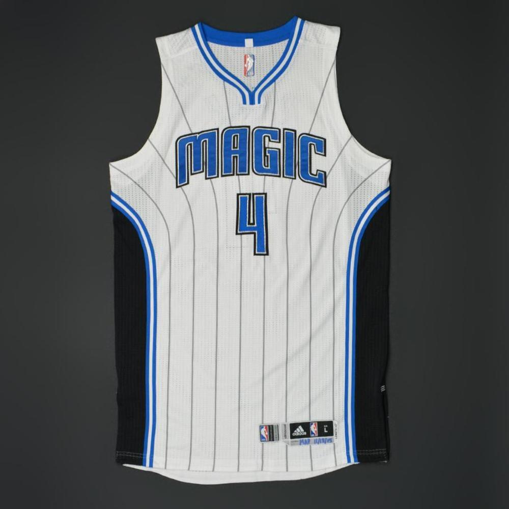 Elfrid Payton - Orlando Magic - Game-Worn Jersey - 2015-16 NBA Season - Scored 24 Points