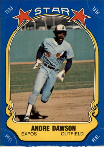 Photo of 1981 Fleer Star Stickers #123 Andre Dawson