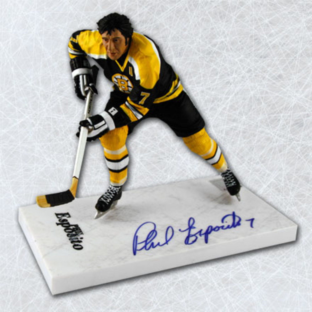 Phil Esposito Boston Bruins Autographed Mcfarlane Sp Figurine