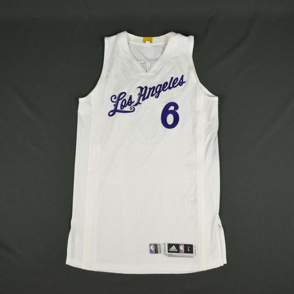 Jordan Clarkson - Los Angeles Lakers - NBA Christmas Day  16 - Game-Worn daadba423