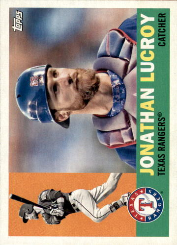 Photo of 2017 Topps Archives #20 Jonathan Lucroy