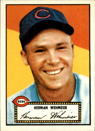 Photo of 1983 Topps 1952 Reprint #80 Herman Wehmeier