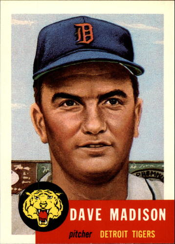 Photo of 1991 Topps Archives 1953 #99 Dave Madison