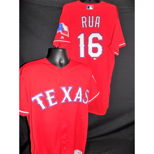 Photo of 2017 Ryan Rua Red Game-Used Jersey