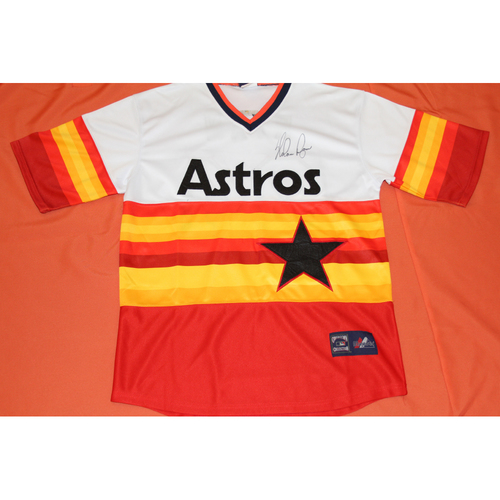 Photo of Autographed Nolan Ryan Astros Jersey - Not MLB Authenticated