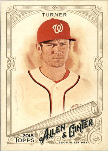 Photo of 2018 Topps Allen and Ginter #39 Trea Turner