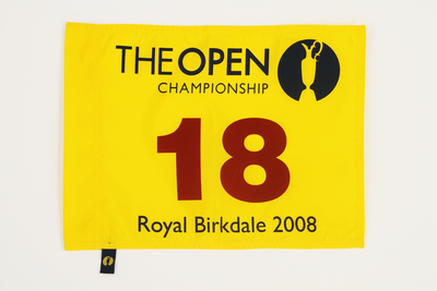 Photo of The 137th Open Official Souvenir Pin Flag - Royal Birkdale 2008