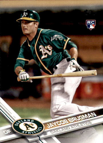 Photo of 2017 Topps Update #US187 Jaycob Brugman RC