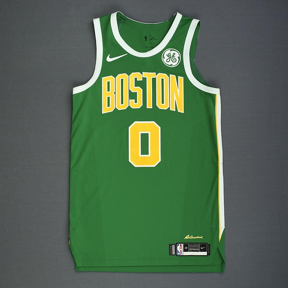 2a1afc75b31 Jayson Tatum - Boston Celtics - Christmas Day  18 - Game-Worn Earned City