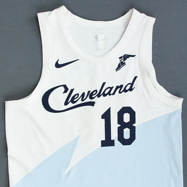 c7c449b01fe Matthew Dellavedova - Cleveland Cavaliers - Game-Worn Earned City ...