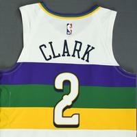 Ian Clark - New Orleans Pelicans - Game-Worn City Edition Jersey - Dressed, Did Not Play - 2018-19 Season
