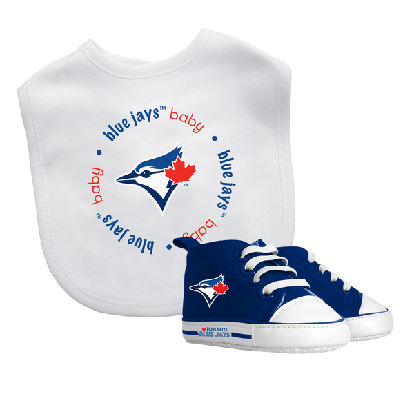Toronto Blue Jays Bib and Pre-Walkers Set by Baby Fanatic