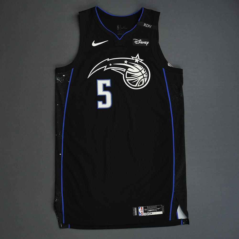newest d18af ed88f Mo Bamba - Orlando Magic - 2018-19 NBA Season - Game-Worn ...