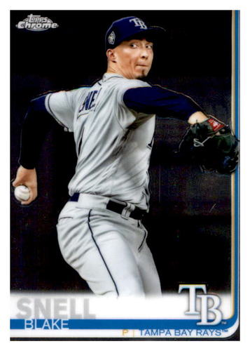 Photo of 2019 Topps Chrome #76 Blake Snell