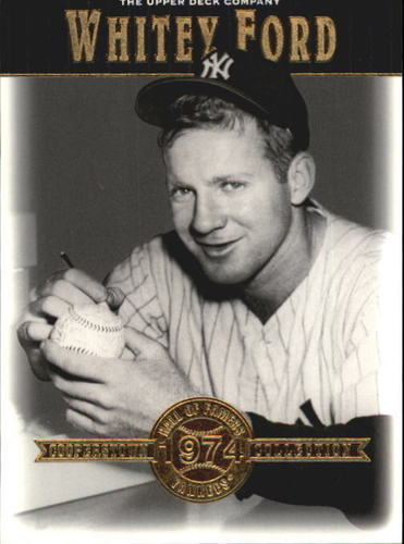 Photo of 2001 Upper Deck Hall of Famers #47 Whitey Ford