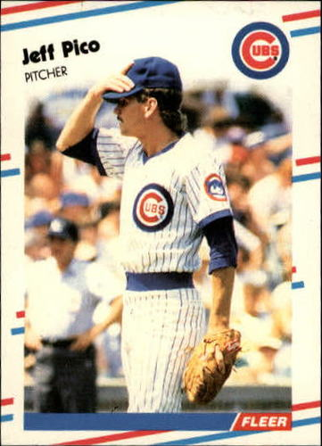 Photo of 1988 Fleer Update #80 Jeff Pico