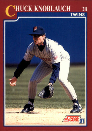 Photo of 1991 Score Rookie/Traded #93T Chuck Knoblauch