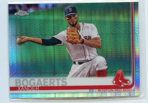 Photo of 2019 Topps Chrome Prism Refractors #96 Xander Bogaerts