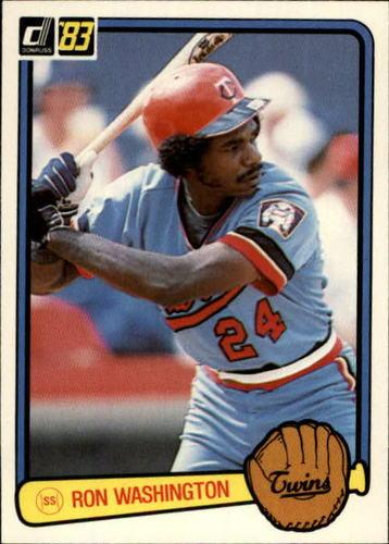 Photo of 1983 Donruss #431 Ron Washington RC
