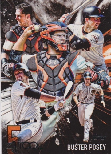 Photo of 2017 Topps Five Tool #5T15 Buster Posey