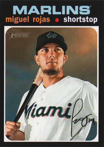 Photo of 2020 Topps Heritage #144 Miguel Rojas