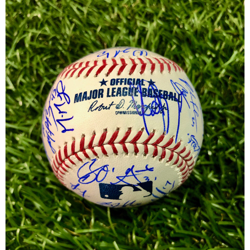 Photo of 2020 Team Signed Baseball