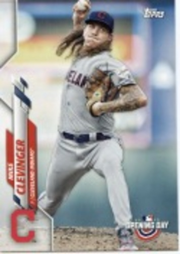 Photo of 2020 Topps Opening Day #158 Mike Clevinger