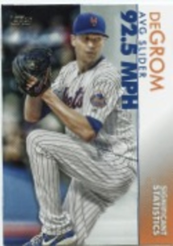 Photo of 2020 Topps Significant Statistics #SS18 Jacob deGrom