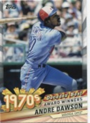 Photo of 2020 Topps Decades' Best Series 2 #DB33 Andre Dawson